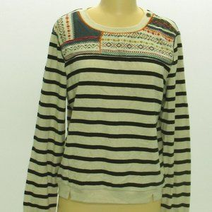 NWT Anthropologie Maeve Striped Sweater size Med